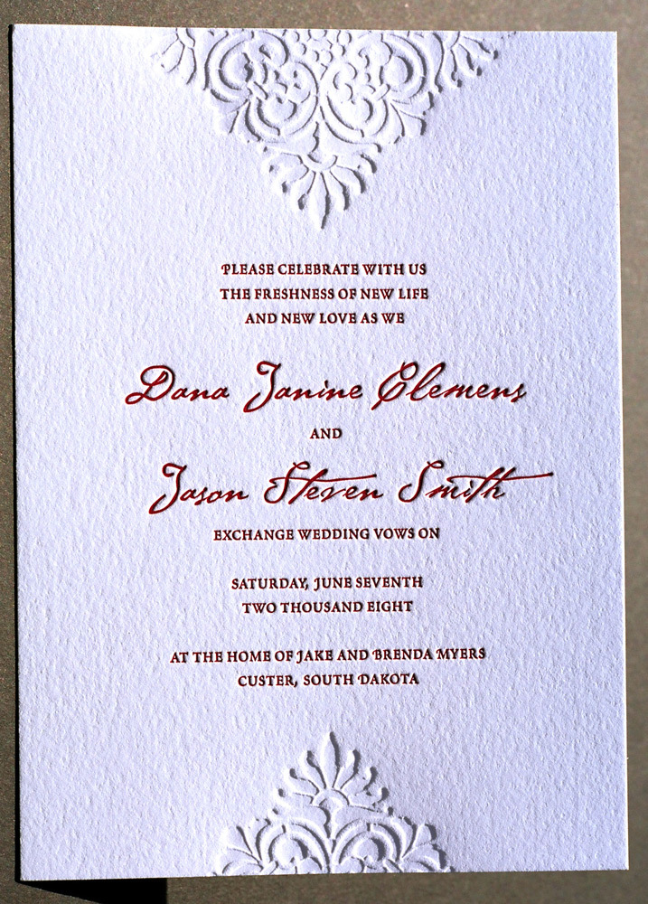 Invitations, Wedding, The, Letterpress, Save, Date, Rsvp, Postcard, Invitations by ajalon, Stationery