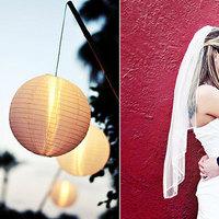 white, Portrait, Lanterns, Red lantern photography