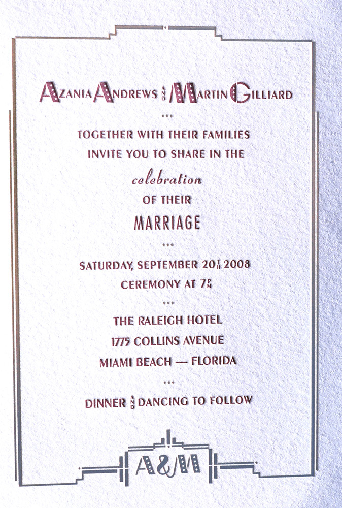 Stationery, invitation, Invitations, Wedding, Postcard, Rsvp, The, Letterpress, Save, Date, Foil, Invitations by ajalon