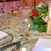 Reception, Flowers & Decor, Dinner, Glass, Chargers, Setting, Tc event design