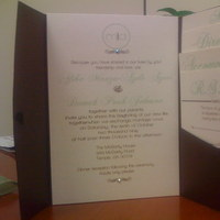 DIY, Stationery, green, Invitations