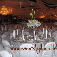 Reception, Flowers & Decor, white, Centerpieces, Flowers, Chair, Covers, Events by danielle