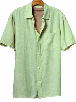 Destinations, green, Hawaii, Beach, Groomsmen, Shirt, Linen
