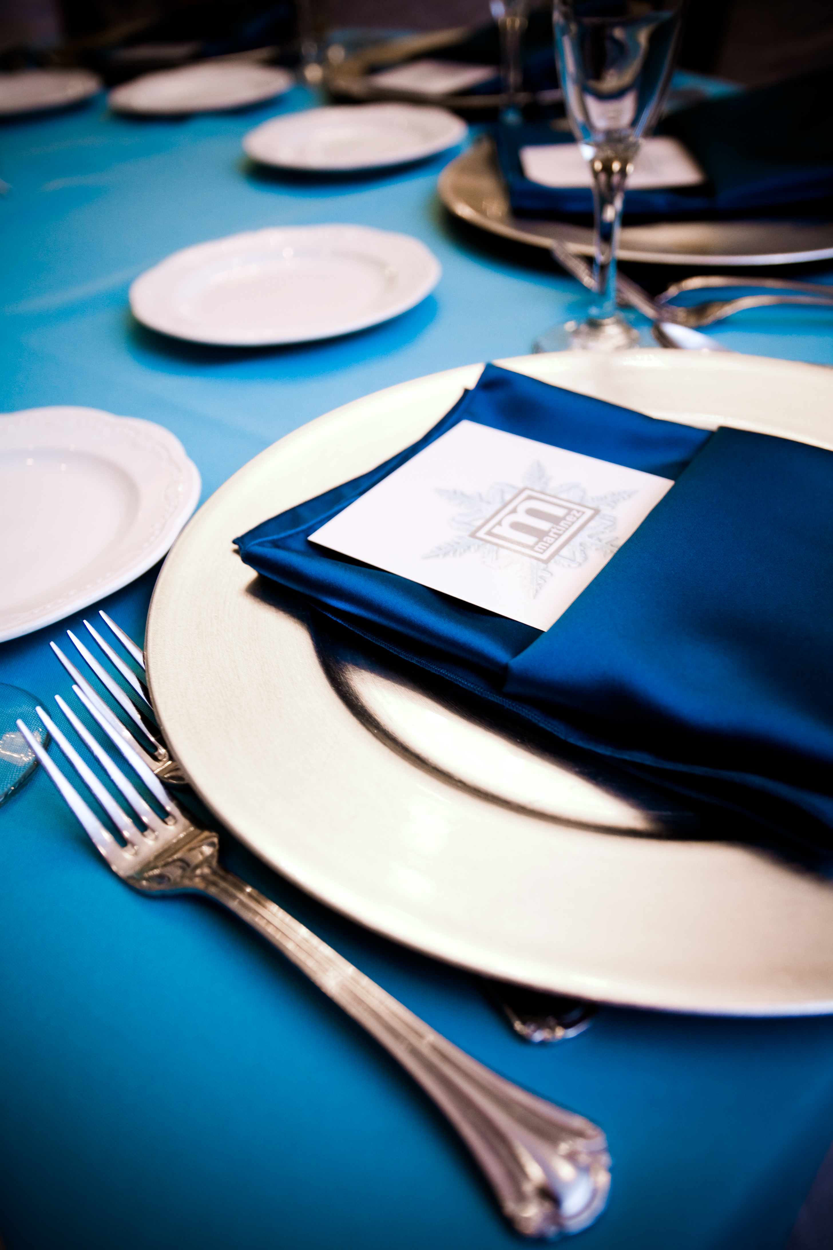 Reception, Flowers & Decor, blue, silver, Winter, Wedding, Teal, Ice, Turquoise, Wonderland