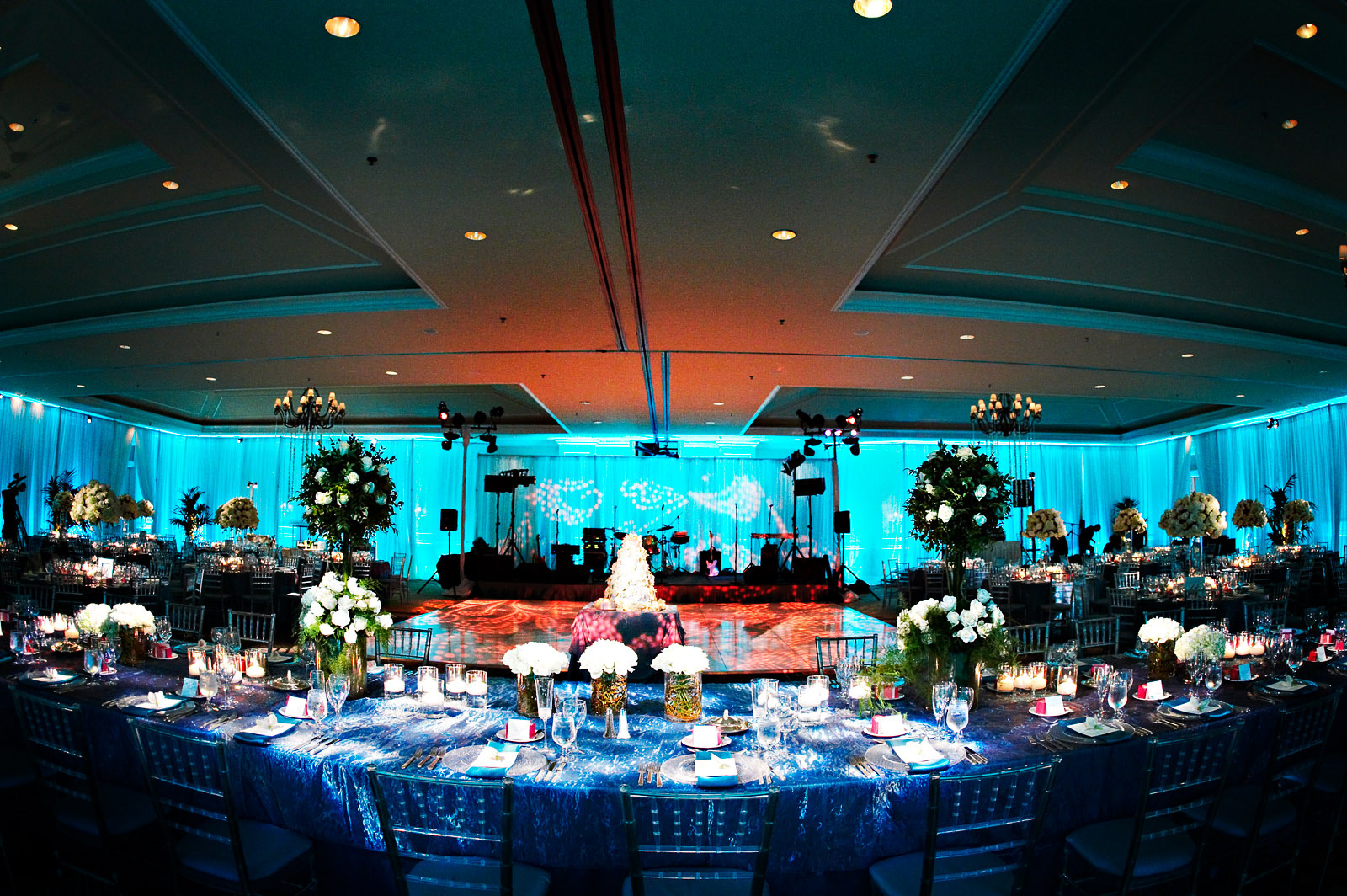 blue, Wedding, Tiffany, Seaside