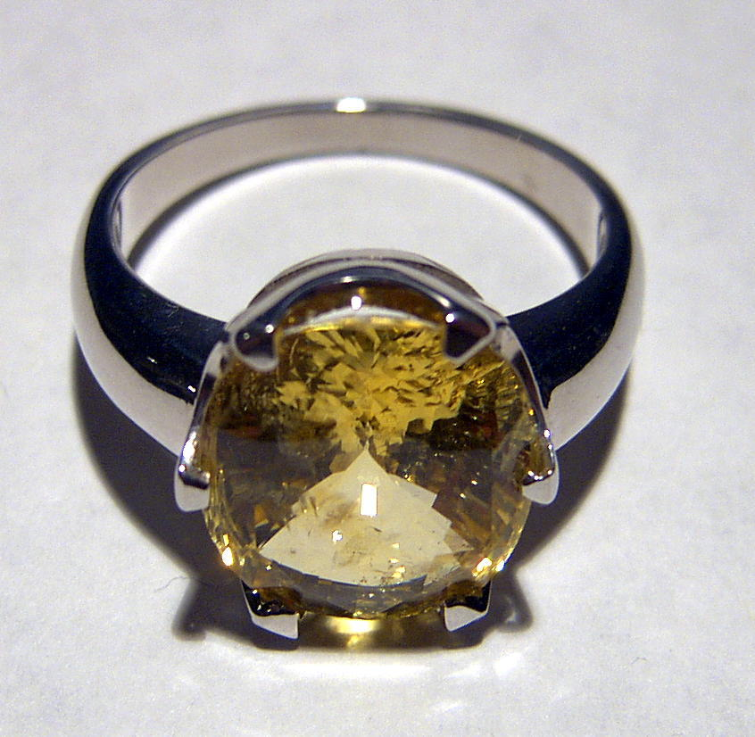 Yellow Sapphire Jupiter Stong Ringvendors Jeff Harman Astrological ...