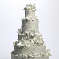 Cakes, white, cake, Cakework, Ruffle