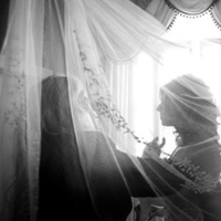 Veils, Fashion, Veil, Window, Halo photographic