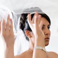 Veils, Fashion, Bride, Veil, Halo photographic
