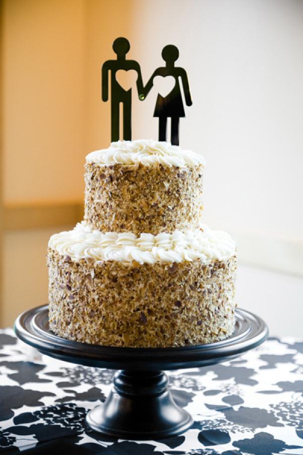 Cakes, cake, Modern, Modern Wedding Cakes, Topper