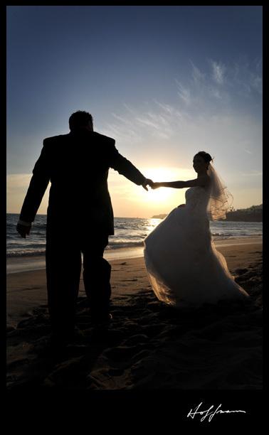 Beach, Dance, First, Sunset, Hoffmann photographer