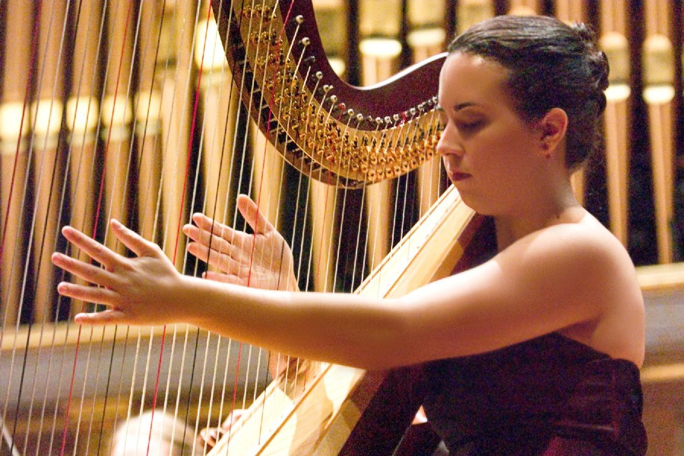 Harp, Musician, Classical, Concerto, Harpist - nadia pessoa