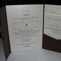 DIY, Stationery, green, Invitations, Invites