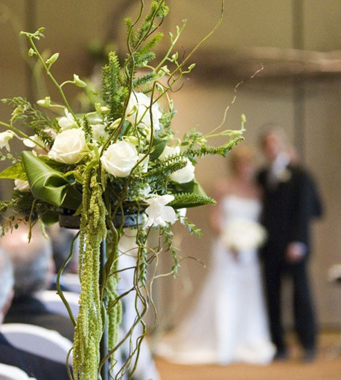 Ceremony, Flowers & Decor, Wedding, Floral, Aisle, Indoor, Give my regards to