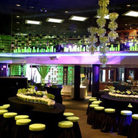 Reception, Flowers & Decor, Decor, green, black, Lighting, Tables & Seating, Tables, Linen, Give my regards to