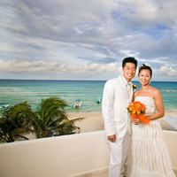 Destinations, Mexico, Bride, Outdoor, Groom, Wedding, And, Destination, Beautiful, Formal, Robert london photography