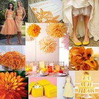 yellow, orange, Color, Palette