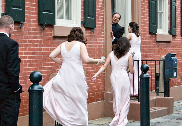 Ceremony, Flowers & Decor, Bridesmaids, Bridesmaids Dresses, Fashion, Wedding, Church, ºfahrenheit nyc photography