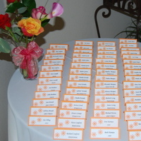 Reception, Flowers & Decor, Cards, Table, At, Arrangement, Place, Seating, The radiant touch weddings