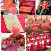 Inspiration, orange, pink, Board, Color