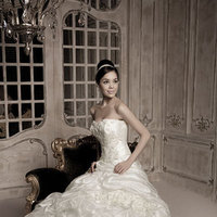 Wedding Dresses, Fashion, dress, Gown, Wedding, Bridal, Designer, Strapless, Strapless Wedding Dresses, Bustle, Couture, Pickup, The bridal warehouse