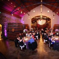 Reception, Flowers & Decor, Centerpieces, Lighting, Centerpiece, Wedding, Room, Barrel, Country, Wine, Kelly and company, wine country weddings and events