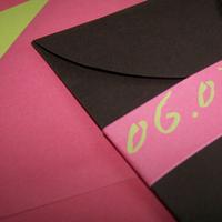 Stationery, brown, invitation, Invitations, Lime, Chocolate, Coral, The w design studio, Petalfold