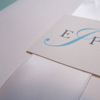 Stationery, white, Invitations, Teal, Booklet, The w design studio