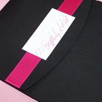 Stationery, white, pink, black, invitation, Invitations, Pocketfold, The w design studio