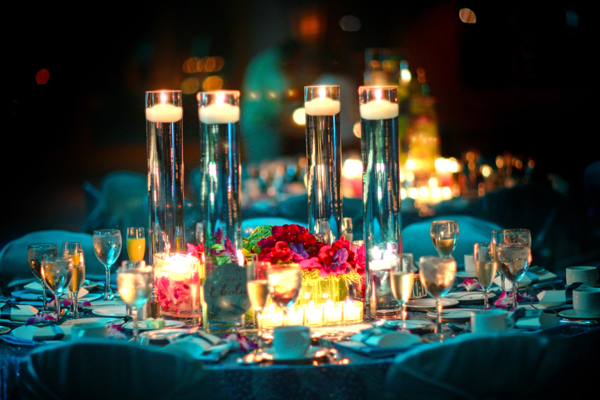 Destinations, blue, Destination Weddings, Hawaii, Destination wedding, Inviting occasion, Modern centerpiece flowers