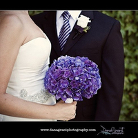 Flowers & Decor, purple, Bride Bouquets, Boutonnieres, Modern, Flowers, Modern Wedding Flowers & Decor, Bouquet, Boutonniere, Hydrangea, Inviting occasion