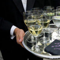 Monogram, Cocktail, Napkins, Hour, Honey bee weddings