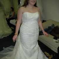 ivory, Mermaid, Wedding dress, White ones