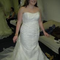 ivory, Mermaid, Wedding dress, White ones