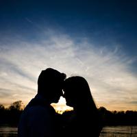 Sunset, Engagement photo