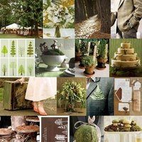 Inspiration, green, brown, Board