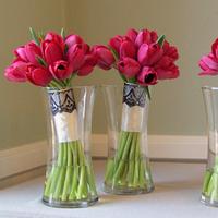 Flowers & Decor, ivory, red, black, Flowers, Bouquets, Floral verde llc