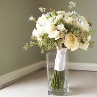 Flowers & Decor, white, blue, green, Bride Bouquets, Flowers, Bouquet, Floral verde llc
