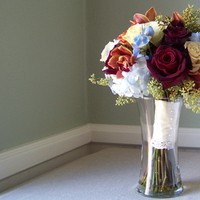 Flowers & Decor, ivory, yellow, red, blue, Bride Bouquets, Flowers, Bouquet, Floral verde llc