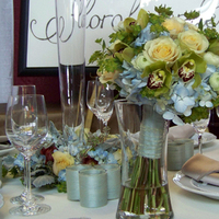 Flowers & Decor, ivory, blue, green, Bride Bouquets, Flowers, Bouquet, Floral verde llc