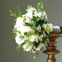 Flowers & Decor, white, green, Bride Bouquets, Flowers, Bouquet, Floral verde llc