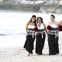 Bridesmaids, Bridesmaids Dresses, Beach Wedding Dresses, Fashion, white, black, Beach, Wedding, And, Dresses, Laguna, Vacation, Felicia perry photography, Village, Pacific, Edge