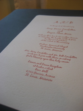 Stationery, Invitations, Letterpress, Fiore press - custom letterpress invitations announcements