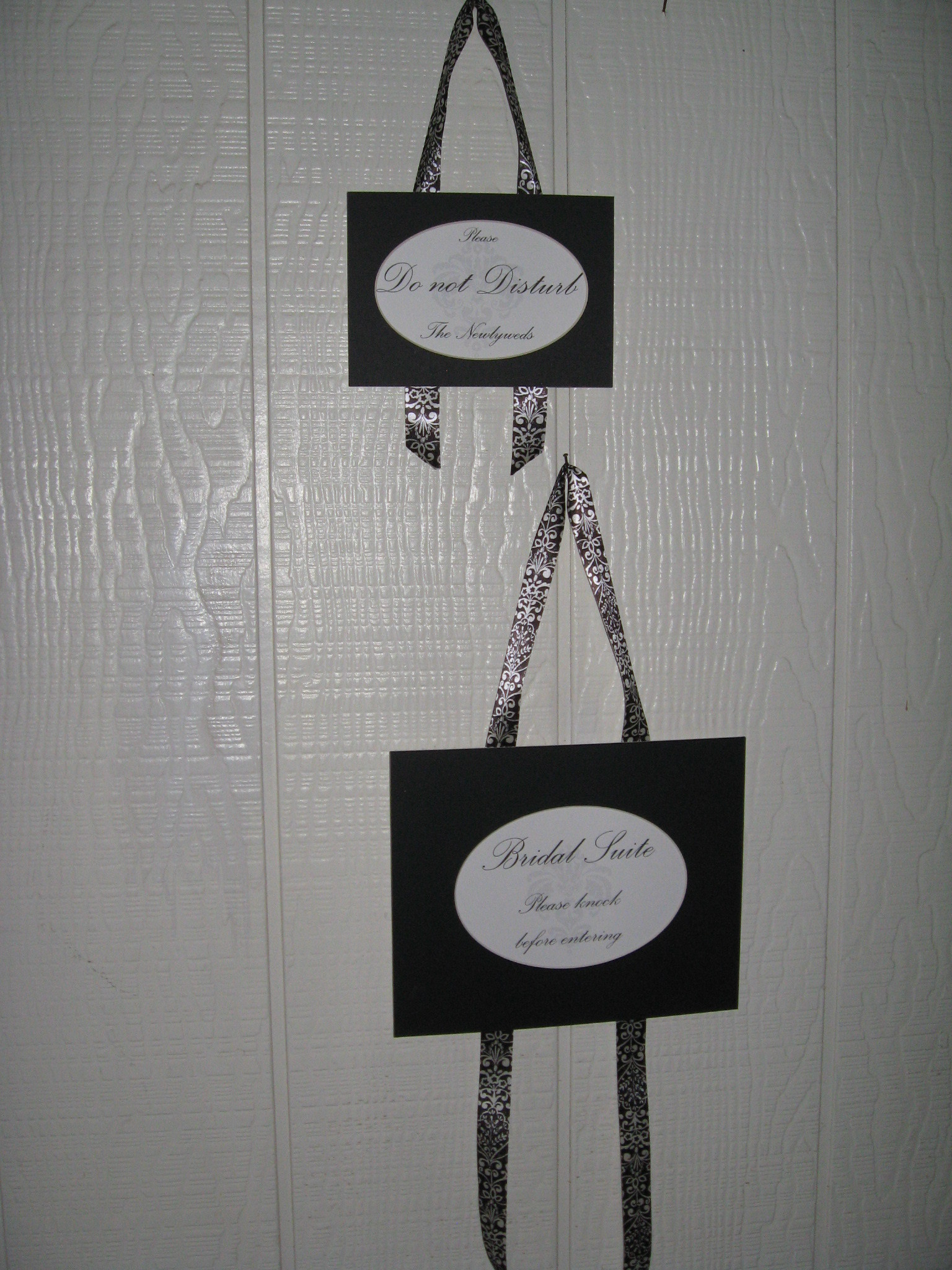 DIY, white, black, Bridal, Sign, Damask, Suite