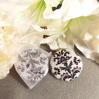 Favors & Gifts, white, black, Favors, Gift, Bridesmaid, Pocket, Damask, Mirrors, Flirtbuttons