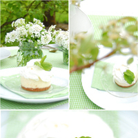 white, green, Tabletop