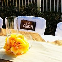 Reception, Flowers & Decor, Decor, Beach, Beach Wedding Flowers & Decor, Sweetheart table