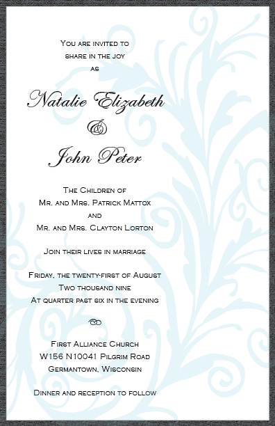 Beauty, Stationery, blue, invitation, Feathers, Invitations, Floral, Invite, Celebration invitations, Mounted