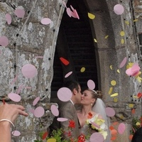 Destinations, Europe, Bride, Groom, Wedding, france, Confetti, A touch of bliss
