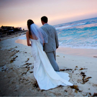 Destinations, Destination Weddings, Mexico, Beach, Bride, Groom, Recherche photography